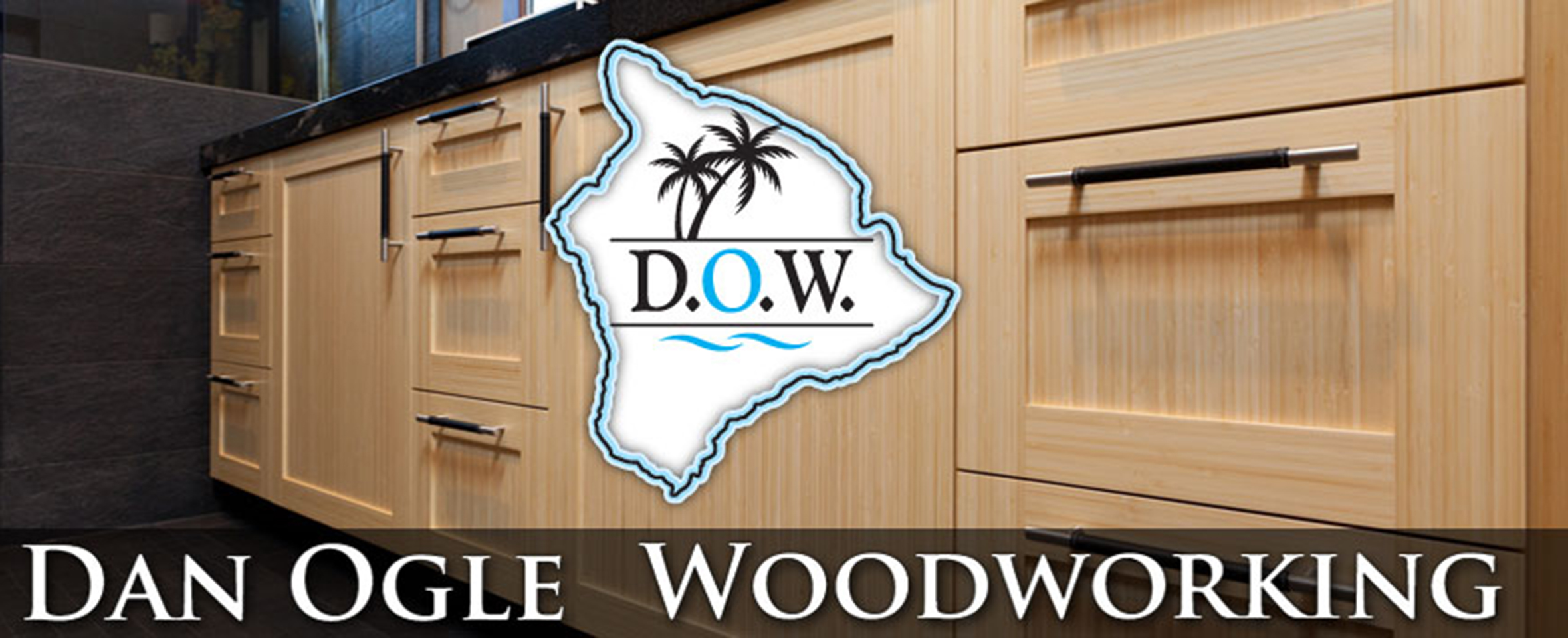 Dan Ogle Woodworking, Kailua Kona, Hawaii on the Big Island